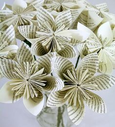 Origami Flower Bouquet by Dollmark Paper Goods on Scoutmob Shoppe