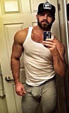 Hairy men in caps blog