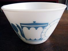 Country Blue fire King Bowl
