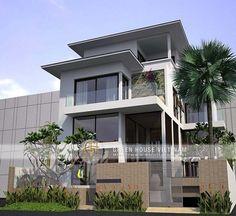 Biệt thự 3 tầng hiện đại tại thành phố Bắc Giang được xây dựng năm 2012 dưới hồ sơ thiết.....