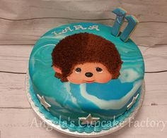 Monchhichi verjaardagstaart birthday cake