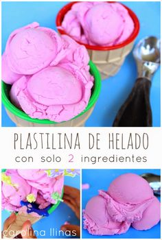 Nuestro Mundo Creativo: Plastilina de helado, con sólo 2 ingredientes
