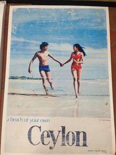 #ceylon #vintage #poster #art