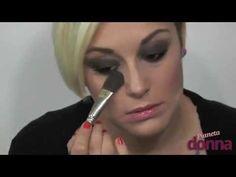 come fare trucco smokey eyes nero - tutorial