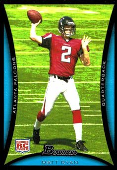 2008 Bowman Matt Ryan Rookie Card Atlanta Falcons