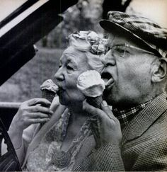 Ice cream at any age.