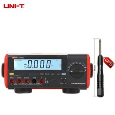 148.97$ Buy now - UNI-T UT803 True RMS Auto Range Bench Type Digital Multimeter DMM HZ Temperature Tester Capacitor w/hFE Test & USB #buychinaproducts