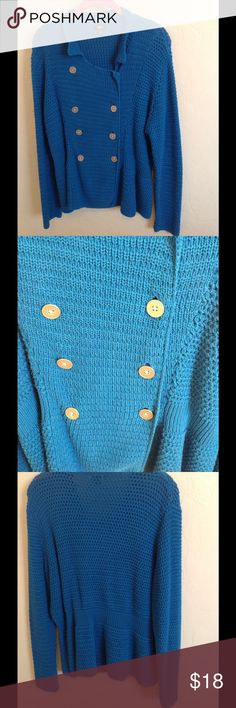 Woman's Plus Size Sweater Pretty blue, worn once, no damage perfect condition Mossimo Supply Co Sweaters