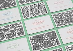 MAYAN COLORS Brand identity on Behance