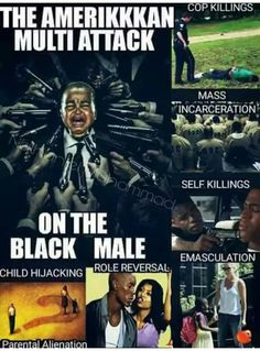 Attack on the black male! Tribe Of Judah, By Any Means Necessary, Black History Facts, Black Pride, Hard Truth, My Black Is Beautiful, African American History, Black Power, Black People