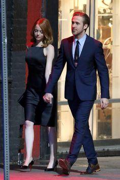 In set of La la land Emma stone and Ryan gosling