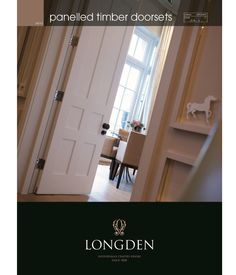 Longden, the specialist manufacturer of hand-crafted, hardwood panelled timber doorsets, is pleased to launch its new Specifiers Guide to so...
