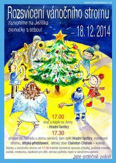 plakát Rozsvícení vánočního stromu v Satalicích Frosted Flakes, Cereal, Food, Choir, Meal, Essen, Hoods, Meals, Breakfast Cereal