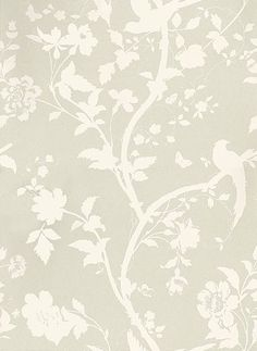 Oriental Garden Linen wallpaper by Laura Ashley