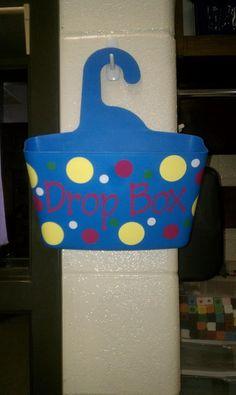Bote de jabón como cesta colgada