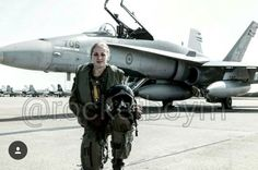 Canadian female pilot