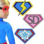 Free Superhero Logos for Doll Clothes - Embroidery machine HatchedInAfrica.com | Product Details