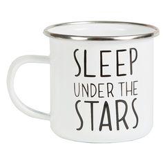 Sleep Under The Stars Enamel Mug | Picnic Accessories | Sass & Belle