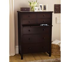 Farmhouse Tallboy Dresser | Pottery Barn < My favorite bedroom set. Nick approved.
