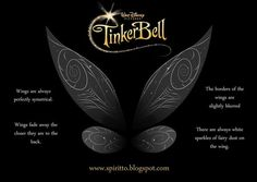 tinkerbell wing tattoo - Google Search