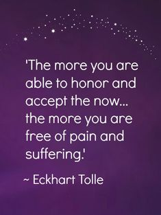 This is so true. The greatest cause of pain and suffering is continually reliving every grief and mistake of the past, without making time for today.. NBNB