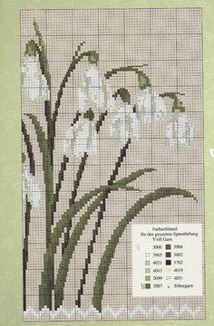 ru / Фото # 27 - UB The spring is coming - necklace - Funny Cross Stitch Patterns, Cross Stitch Borders, Cross Stitch Flowers, Cross Stitch Designs, Cross Stitching, Beaded Cross Stitch, Cross Stitch Embroidery, Embroidery Patterns, Hand Embroidery