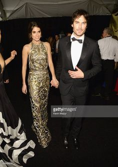 Ian Somerhalder - The Weinstein Company And Netflix Golden Globe Party at The Beverly Hilton Hotel on January 2016 in Beverly Hills, California. Ian Somerhalder Nikki Reed, The Beverly, Beverly Hilton, Ian And Nikki, Star Wars, Prom Dresses, Formal Dresses, Golden Globes, Cute Couples