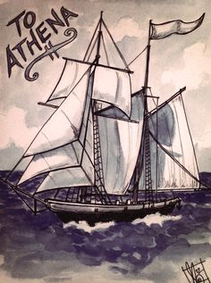 Lucy Bellwood does both comics and illustration. She's a sailor and does lots of sailing ships!