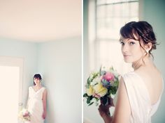 Gorgeous portrait using window light