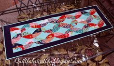 Quilt Fabrication: Bohemian Twist Table Runner