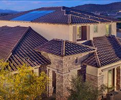 Meritage Homes has solar as a standard option in their homes since 2010, and now offers a net-zero home options that effectively produce all of a home's energy.