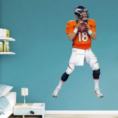 Fathead NFL Denver Broncos Peyton Manning Home Wall Decal - 12-21072