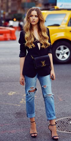 Kristina Bazan - Dress up your denim!