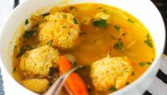 Russian Meatball Soup is loaded with beautiful and tender chicken meatballs floating in a warm and comforting broth. It's an ultimate sniffle soother! Crispy Chicken, Chicken Soup, Russian Chicken, Russian Recipes, Ukrainian Recipes, Russian Dishes, Russian Foods, Croatian Recipes, Hungarian Recipes