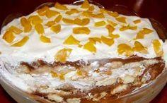 Skvělá pochoutka pro toho, kdo nerad peče a rád si zamlsá na sladké dobrotě. Desserts In A Glass, Vanilla Cake, Nutella, Sweet Recipes, Tiramisu, Rum, Deserts, Food And Drink, Pudding