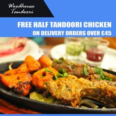 Woodhouse Tandoori offers delicious Indian Food in Finchley, North London Browse takeaway menu and place your order with ChefOnline. Indian Food Recipes, Ethnic Recipes, Food Online, North London, Tandoori Chicken, Opportunity, Menu, Delivery