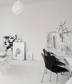 Scandinavian apartment. monochrome interior