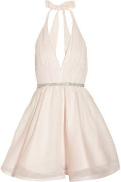 shopstyle.com: Alice + Olivia Brooke silk-chiffon and silk-organza dress