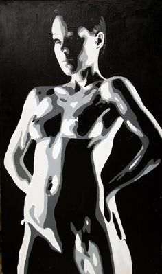 "Saatchi Art Artist Wojtek Bąbski; Painting, ""Melisa 2"" #art"