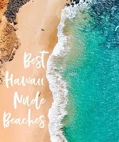 Nude Beaches in Hawaii — Real talk: it's illegal to sunbathe nude on Hawaiian beaches, meaning there are no true nude beaches. However, topless sunbathing is permissible and common throughout the islands. Federal Park Rangers, who are tasked with enforcin Red Sand Beach, Beach Cove, Harbor Beach, Nude Beach, Beach Fun, Beach Trip, Federal Parks, Baldwin Beach, North Shore Beaches