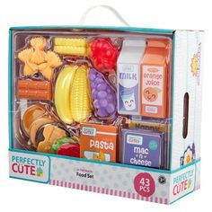Perfectly Cute In The Pantry Play Food & Kitchen Accessory 43 Pc Set : Target Little Girl Toys, Toys For Girls, Kids Toys, Baby Girl Toys, Kids Play Kitchen, Toy Kitchen, Baby Alive Dolls, Baby Dolls, Four Food Groups
