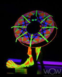 SEEING THE LIGHT, Mary Turner, New Zealand. CentrePort Illumination Illusion Section. 2012 Brancott Estate WOW Awards Show
