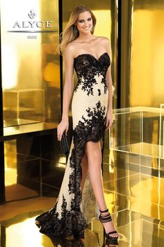 0e49a13f94872 13 High Low (Or Hi Low) 2013 Prom Dresses By ALYCE Paris