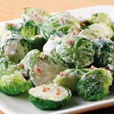 Dieta Alcalina Ricetta #13# Cavolini di Bruxelles cremosi