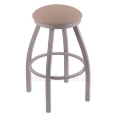 "Varick Gallery Cragin 36"" Swivel Bar Stool Finish: Black Wrinkle, Upholstery: Allante Beechwood"