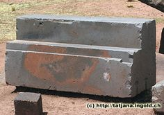 Right angle cuts - Pumapunku Ancient Egyptian Art, Ancient Ruins, Ancient Artifacts, Ancient History, European History, Ancient Greece, American History, Puma Punku, Weird History Facts