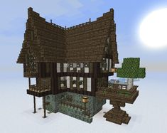 Medieval/Fantasy building bundle now with MCedit Schematic Minecraft Project Minecraft medieval house Minecraft medieval buildings Minecraft medieval