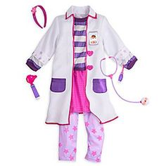 This is just what the doctor ordered for every aspiring physician. Our Doc McStuffins costume comes with everything your little caregiver will need for a long term prognosis of roleplay fun, including play stethoscope and otoscope.