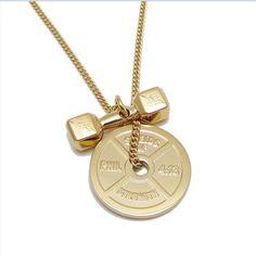 425b2da72 Shields of Strength - Women's Gold Stainless Steel Combo-Phil 4:13 Weight  Plate