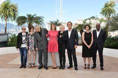 Lola Creton Photos Photos - (L-R) French writer Jean-Pol Fargeau, actress Lola Creton, actor Michel Subor, actress Chiara Mastroianni, director Claire Denis, actor Vincent Lindon, actress Julie Bataille and actor Alex Descas attend the 'Les Salauds' Photocall during the 66th Annual Cannes Film Festival on May 22, 2013 in Cannes, France. 'Les Salauds' Photo Call in Cannes Cannes France, Photo L, Bridesmaid Dresses, Wedding Dresses, Cannes Film Festival, Claire, Writer, Actresses, Actors